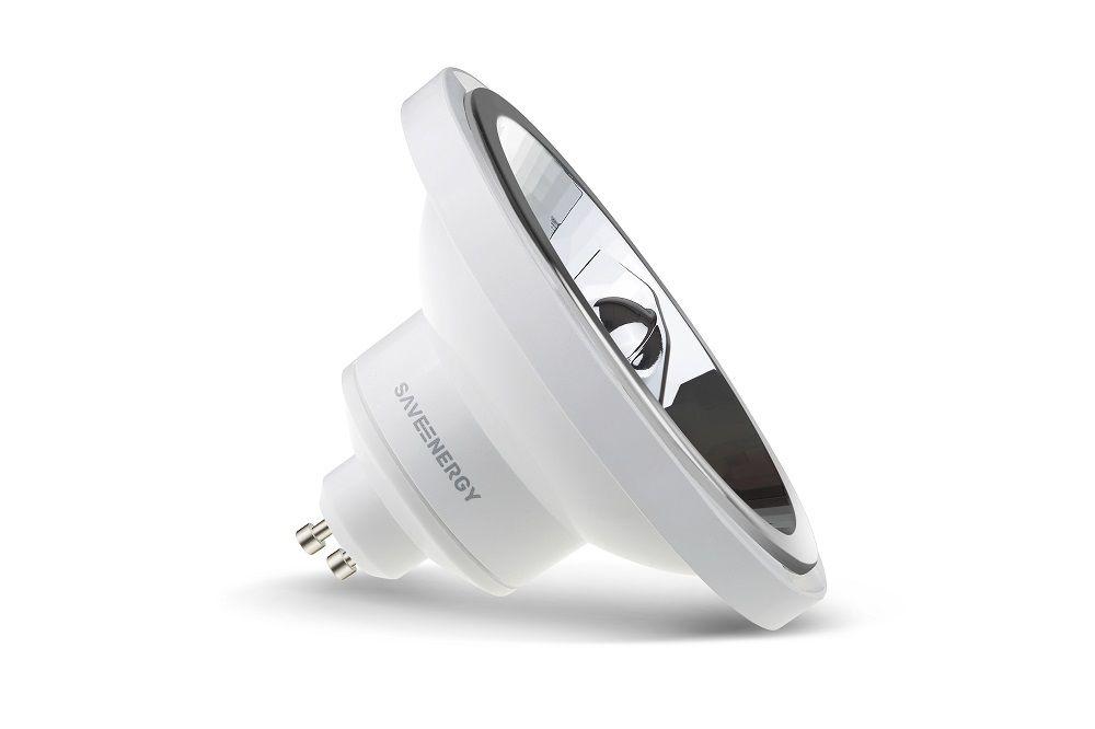 Lâmpada LED Save Energy SE-105.1445 Dimerizável AR111 12W 2700K 24G Bivolt