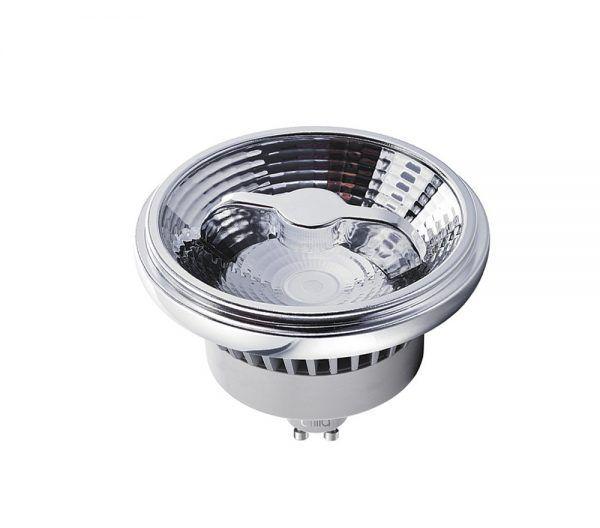 Lâmpada LED Brilia 434512 Refletora AR111 Dimerizável GU10 9,5W 2700K 20G 127V
