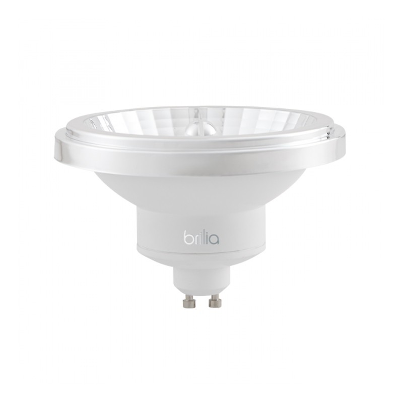 Lâmpada LED Brilia 303201 Refletora Dimerizável 12W 2700K GU10 AR111 12G IP20 Bivolt