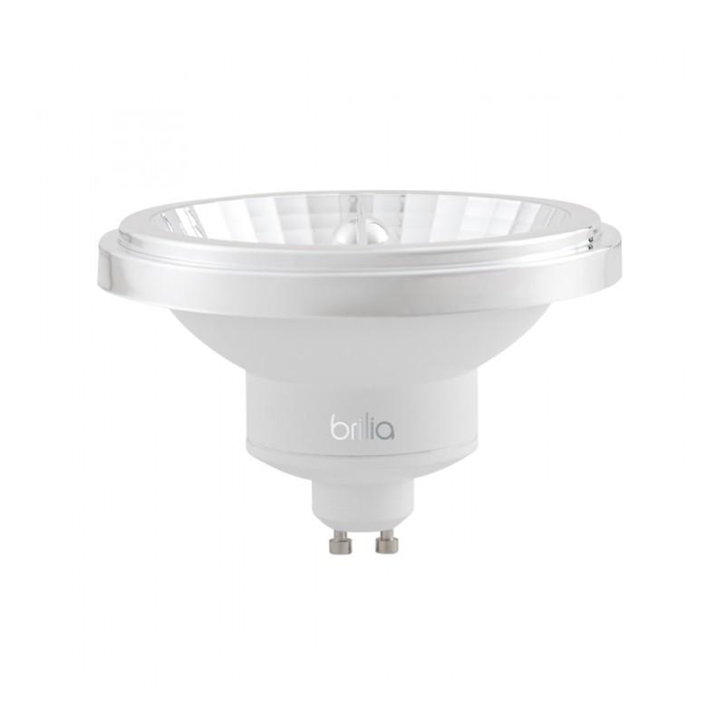 Lâmpada LED Brilia 303218 Refletora Dimerizável 12W 2700K GU10 AR111 24G IP20 Bivolt