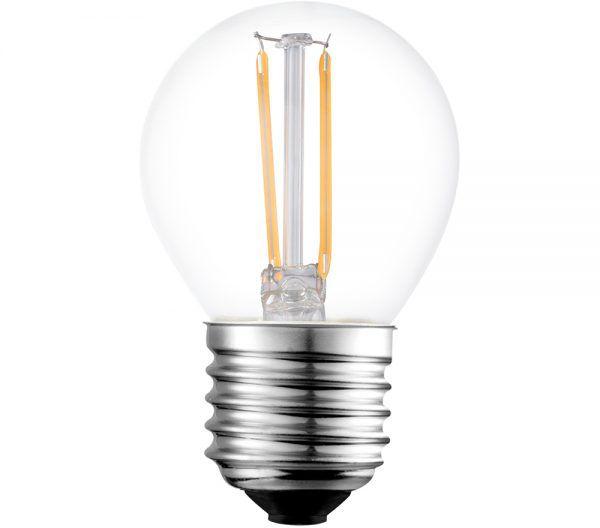 Lâmpada LED Brilia 437094 Mini Globo FIlamento E27 2W 2700K 300G IP20 127V