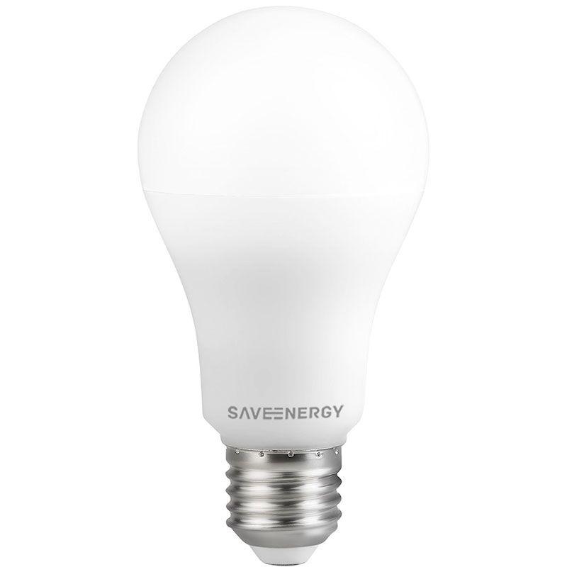 Lâmpada LED Save Energy SE-215.1443 Bulbo Dimerizável A65 11W 2700K 290G Bivolt