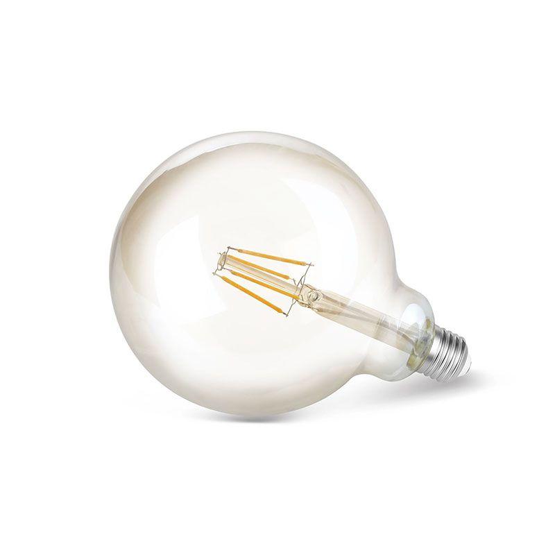 Lâmpada LED Save Energy SE-345.1390 Bulbo Filamento Vintage G125 4W 2200K 360G Bivolt