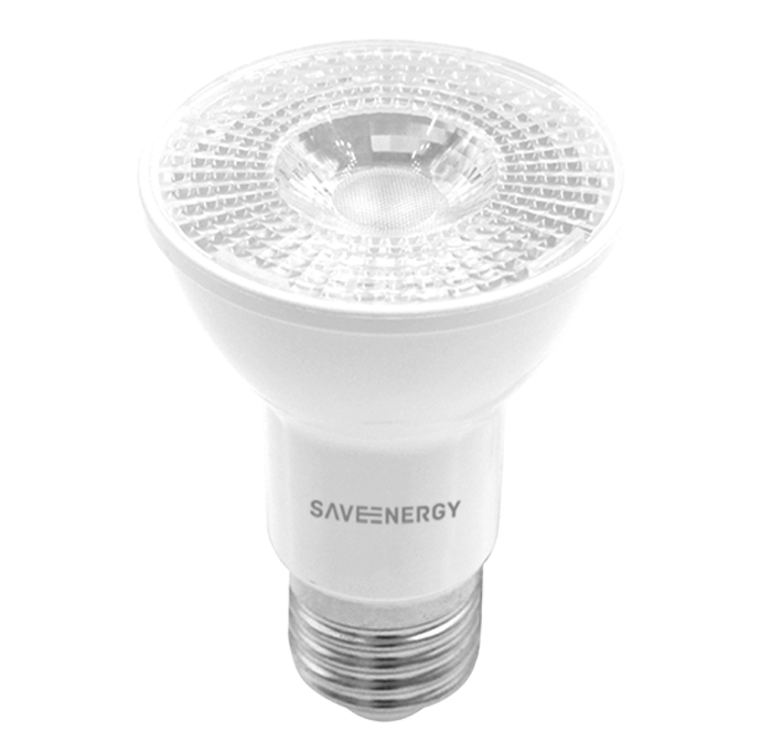 Lâmpada LED Save Energy SE-110.1422 Crystal PAR20 7W 6500K 36G Bivolt