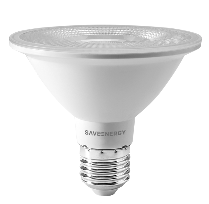 Lâmpada LED Save Energy SE-115.1462 Clear PAR30 10W 2700K 38G Bivolt