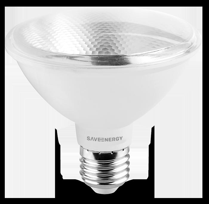 Lâmpada LED Save Energy SE-115.455 PAR30 10W 2700K 24G Bivolt