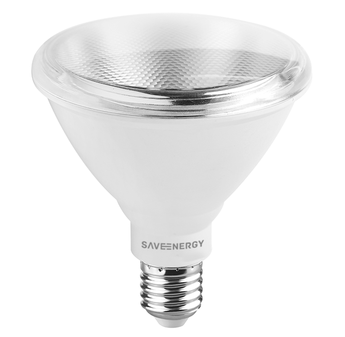 Lâmpada LED Save Energy SE-120.439 PAR38 15W 2700K 24G Bivolt