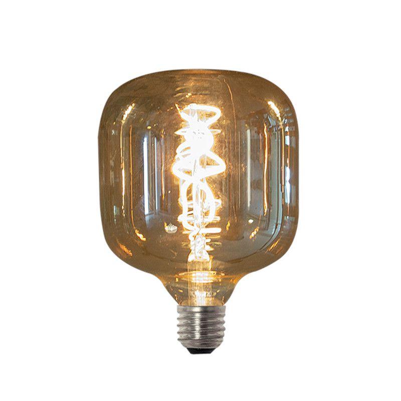 Lâmpada LED Romalux 70271 FIlamento Vetro E27 2,5W 2200K IP20 Bivolt Ø125x166mm