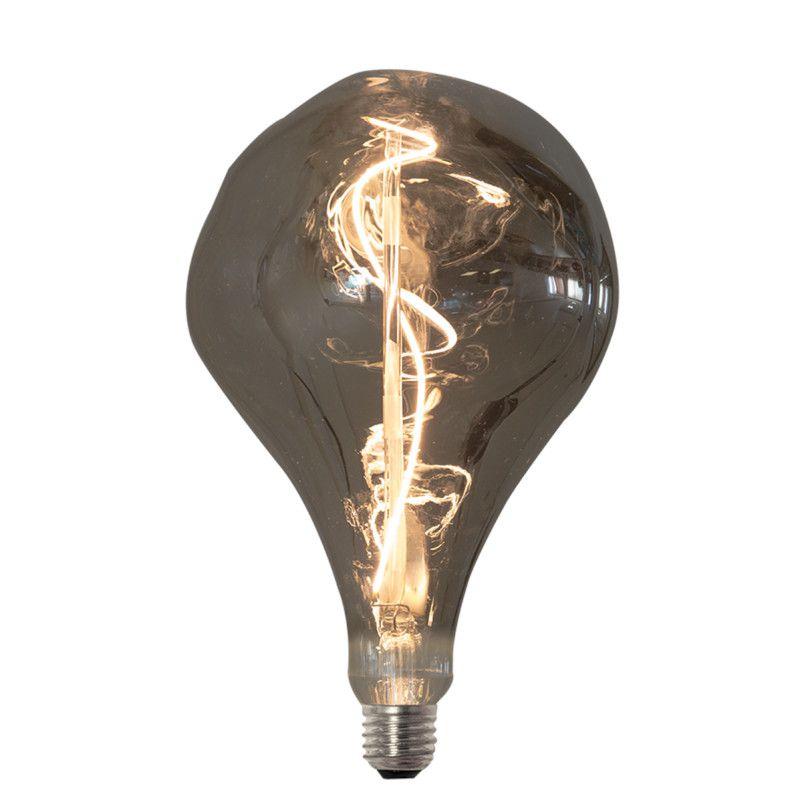 Lâmpada LED Romalux 70275 FIlamento Vetro E27 4W 2200K IP20 Bivolt Ø160x268mm