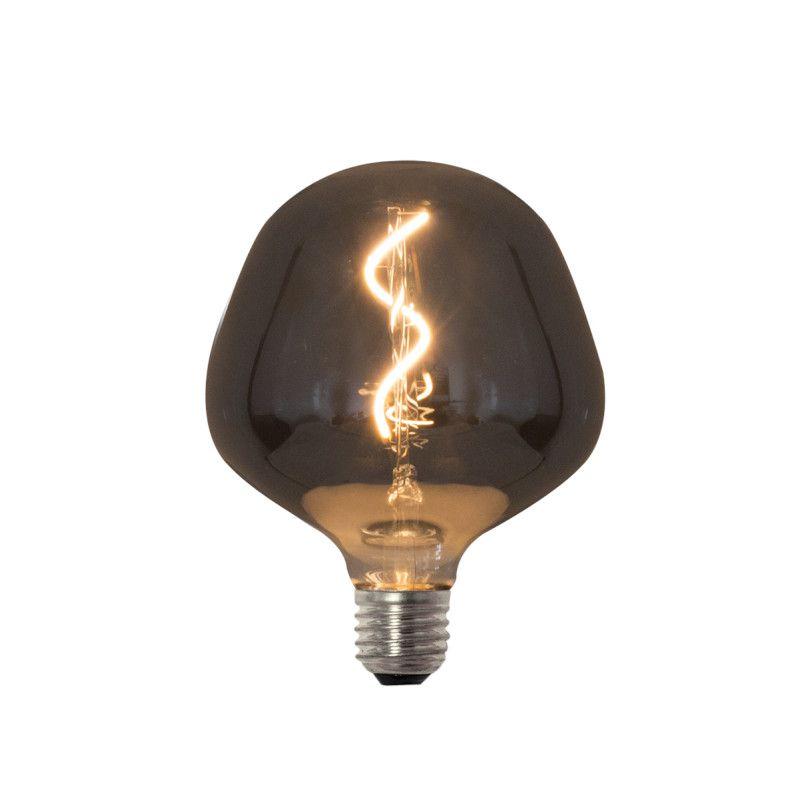 Lâmpada LED Romalux 70281 FIlamento Vetro E27 2,5W 2200K IP20 Bivolt Ø140x155mm
