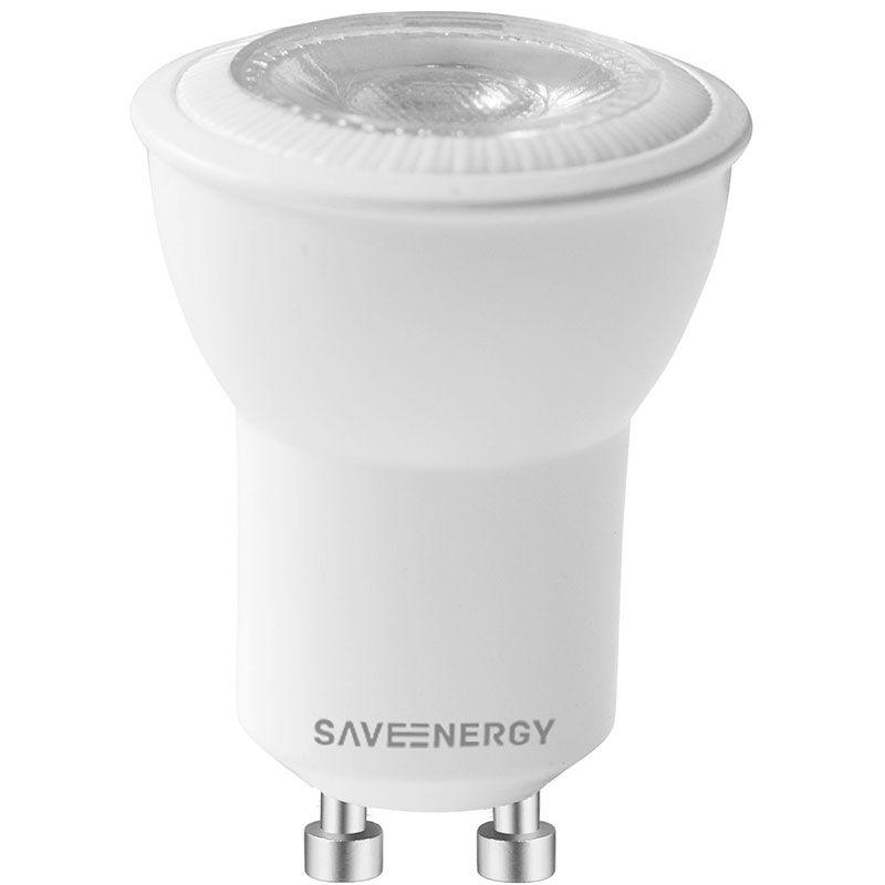 Lâmpada LED Save Energy SE-140.1152 Mini Dicróica Dimerizável 3,8W 2700K 36G Bivolt