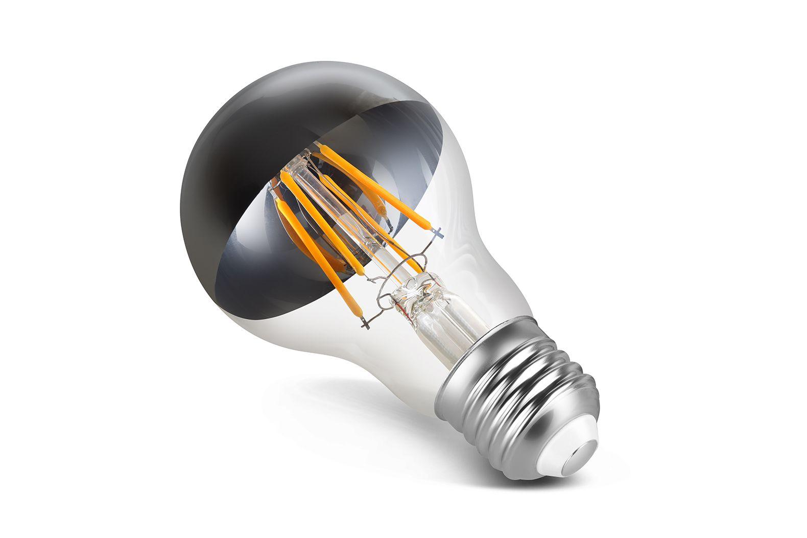 Lâmpada LED Save Energy SE-345.1393 Bulbo Filamento Espelhada A60 4W 2200K 360G Bivolt