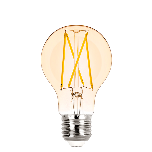Lâmpada LED Stella STH6335/24 Bulbo Filamento Vintage E27 2W 2400K Bivolt