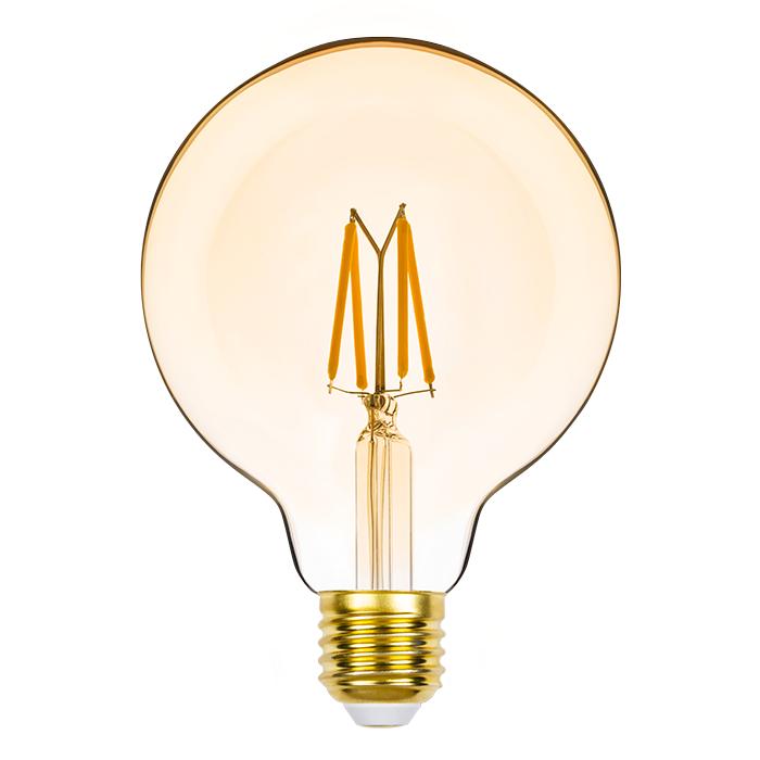 Lâmpada Led Stella STH8281/24 G95 Balloon Dimerizável Filamento Vintage E27 4,5W 2400K 127V