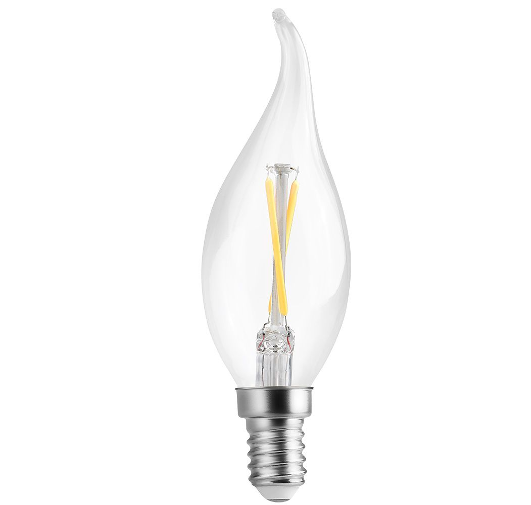 Lâmpada LED Save Energy SE-210.1026 Vela Chama Filamento E14 2W 2400K 360G 127V