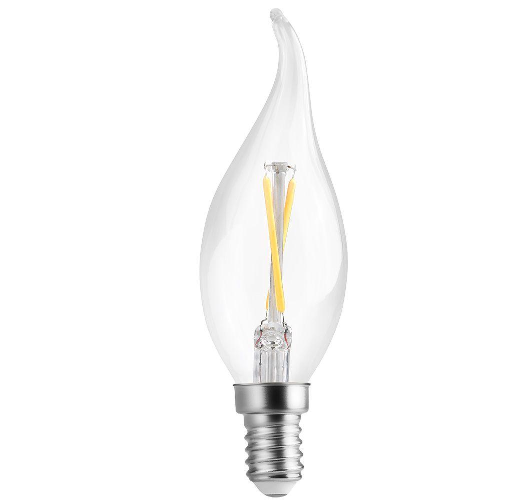 Lâmpada LED Save Energy SE-210.1027 Vela Chama FIlamento E14 2W 2400K 360G 220V