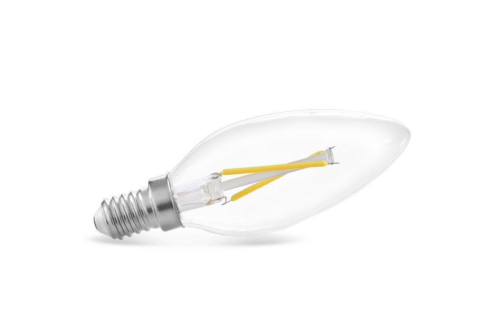 Lâmpada LED Save Energy SE-200.1028 Vela Filamento E14 2W 2400K 360G 127V
