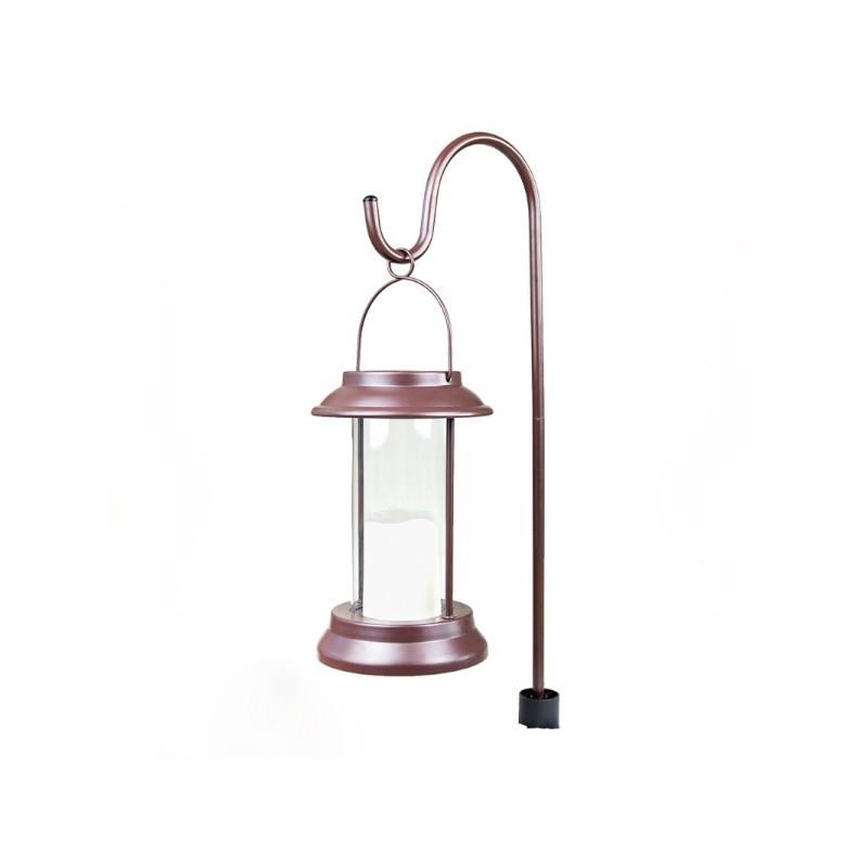 Lanterna de Jardim Ecoforce LED 17274 Solar Multifuncional 0.3W IP54 125x125x190mm