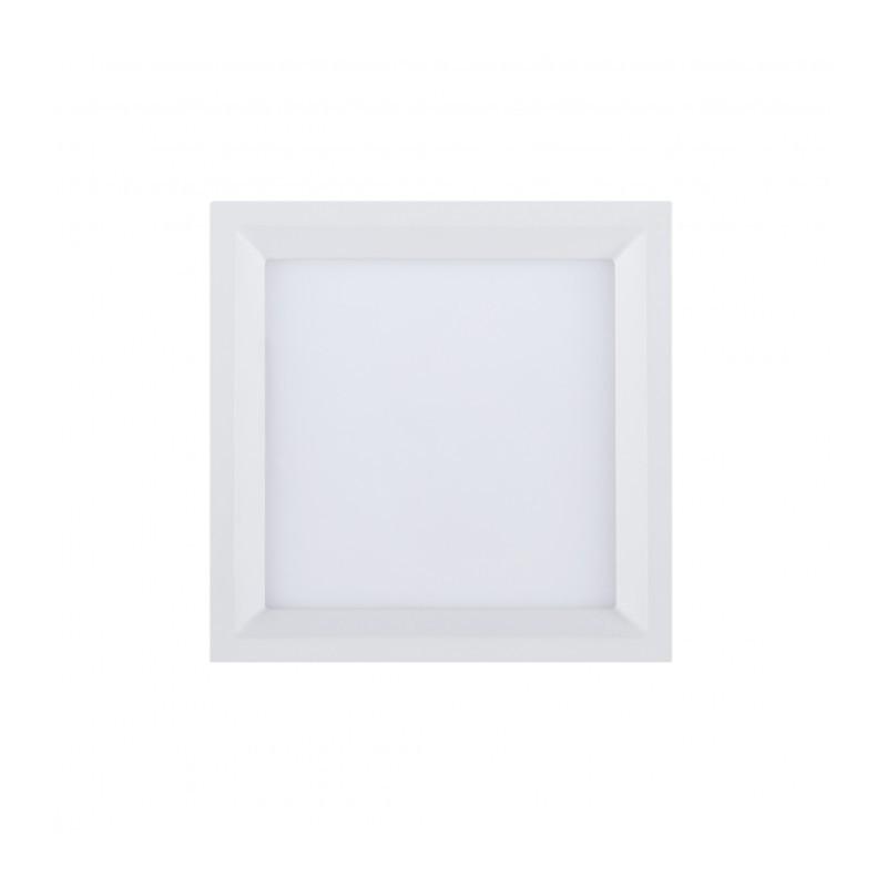 Luminária Embutir Brilia 305640 Painel Recuado Quadrado 15W IP20 4000K 120G Bivolt 184x168x30mm