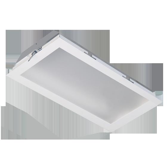 Luminária Embutir Incolustre 896.55 Slim 3L Tubular 1270x222x128mm