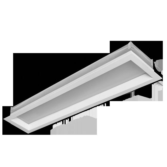 Luminária Embutir Incolustre 898.04 New Slim 1L E27 1270x128x128mm