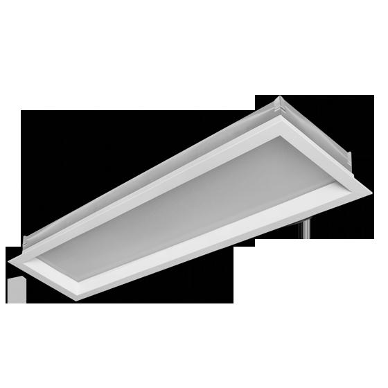 Luminária Embutir Incolustre 898.05 New Slim 1L E27 1270x171x128mm