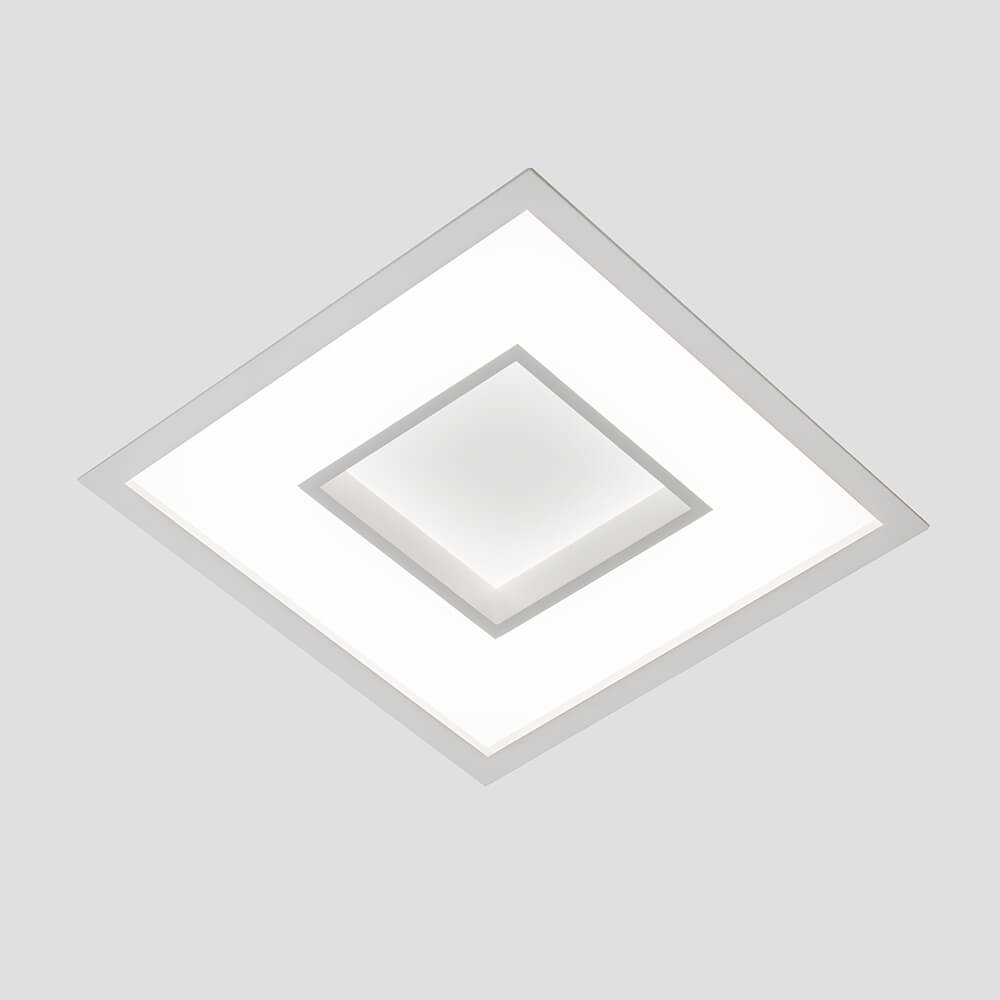 Luminária Embutir LED Newline 500LED4 New Chess 16,8W 4000K Bivolt 285x285x67mm