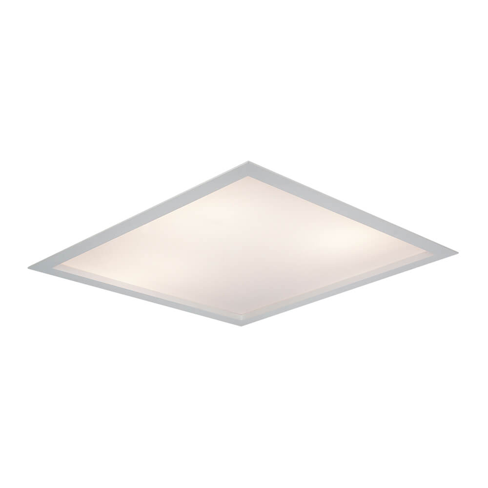 Luminária Embutir LED Newline 602LED3 Flat II 50,4W 3000K Bivolt 417x417x72mm