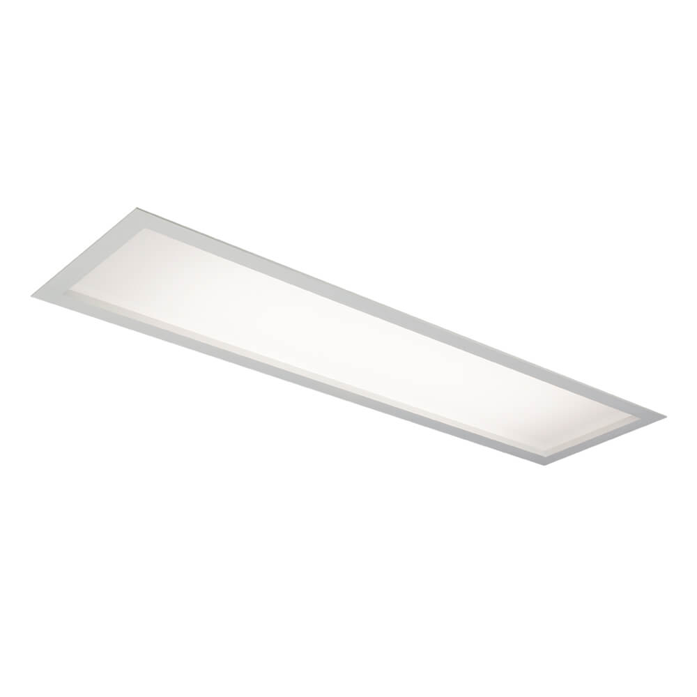 Luminária Embutir Newline IN8016 Flat 2L Tubular T8 G13 1300x185x92mm