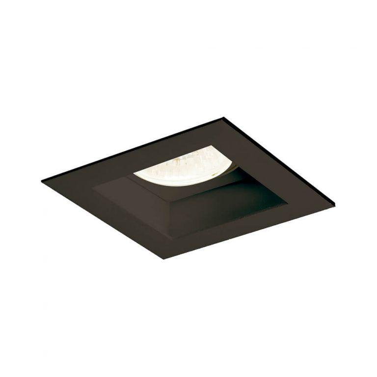 Luminária Embutir Spot Newline IN65104 Flat 1 AR70 GU10 110x110x85mm