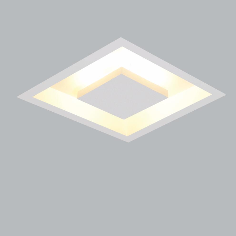 Luminária Embutir Usina 250/6 Home 6L Halopin G9 650x650mm