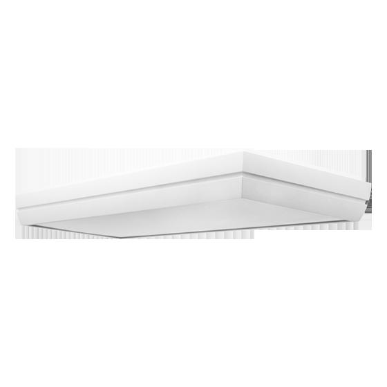 Luminária Incolustre 899.25 DUNI 20 4L TUBULAR T5 770x300x90mm Branco