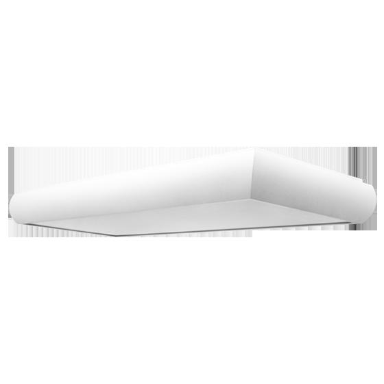 Luminária Incolustre 899.63 UNI 40 4L Tubular T5 1390x300x90mm Vermelho