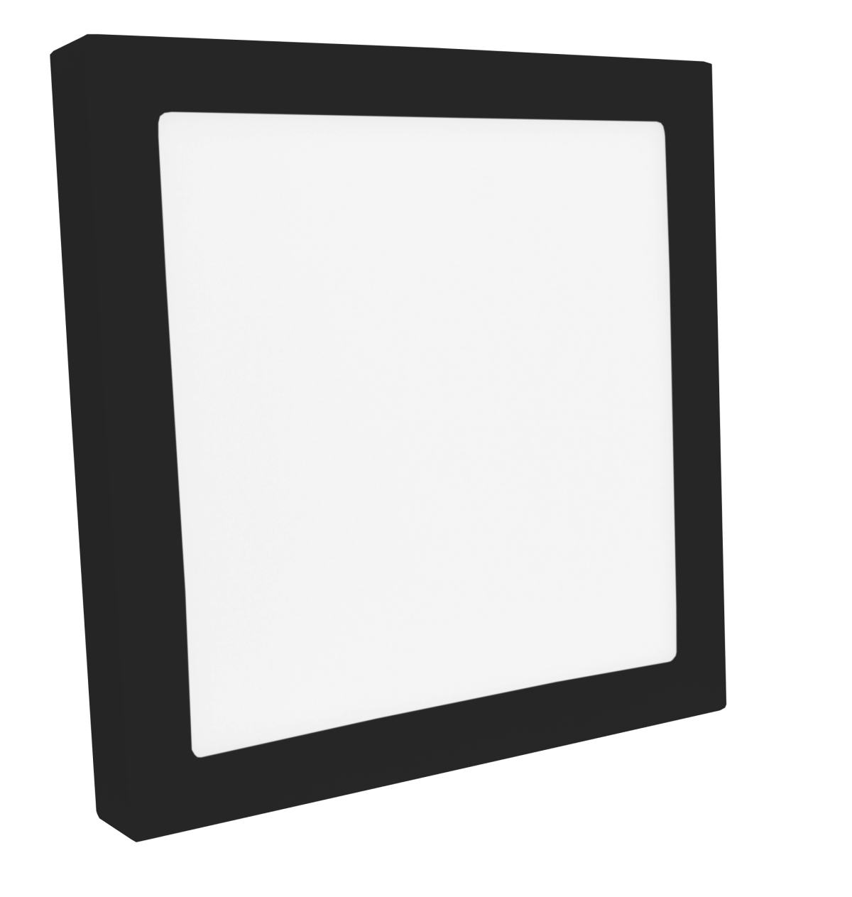 Luminária Sobrepor LED Save Energy SE-240.1619 Jet Black 25W 3000K Bivolt 300x300mm Preto