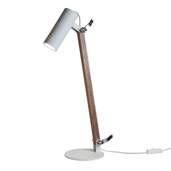 Luminária Mesa Newline 223 Lisse 1L Mini Dicróica GU10 150x360x580mm