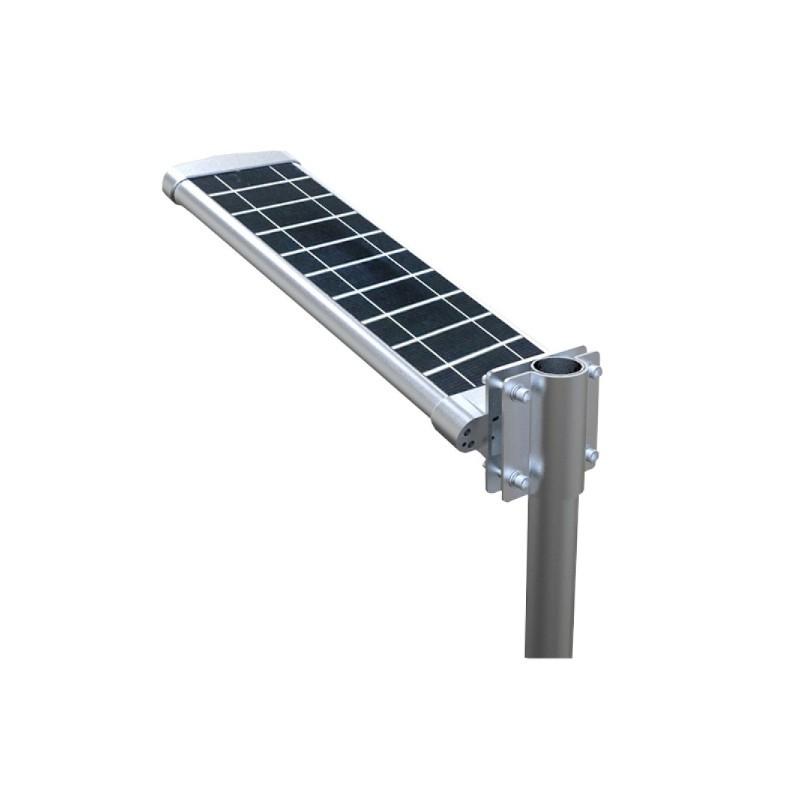 Luminária para Poste LED Ecoforce 15543 Solar 20W 6000K IP54 164x227x808mm