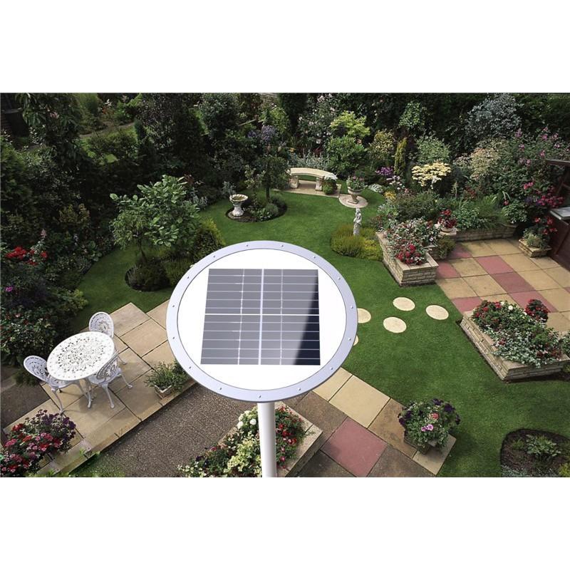 Luminária para Poste LED Ecoforce 16670 Solar 20W 6000K IP54 163x526x526mm