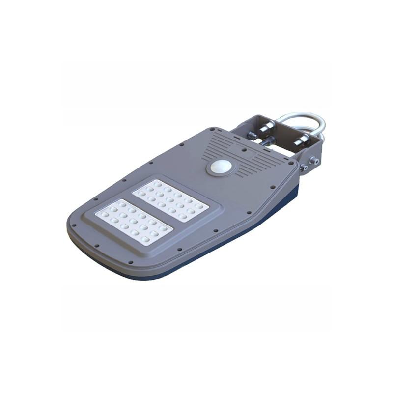 Luminária para Poste LED Ecoforce 17278 Solar 10W 6000K IP54 86x246x450mm
