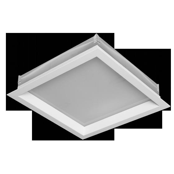 Luminária Sobrepor Incolustre 898.10 New Slim 2L E27 300x300x50.8mm