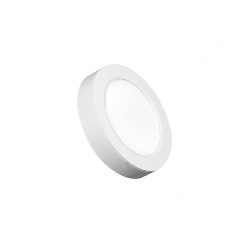 Luminária Sobrepor LED Ecoforce 17204 Redondo 12W 6500K IP20 Bivolt Ø170x34mm