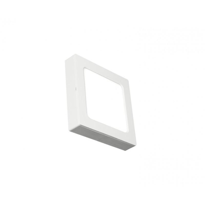 Luminária Sobrepor LED Ecoforce 17208 Quadrado 12W 6500K IP20 Bivolt 170x170x34mm