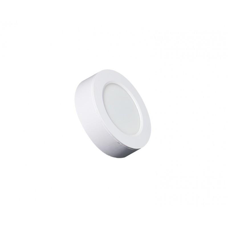 Luminária Sobrepor LED Ecoforce 17287 Redondo 6W 3000K IP20 Bivolt Ø120x34mm