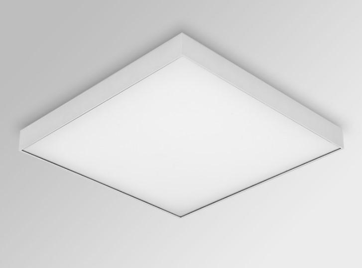Luminária Sobrepor LED Opus HM36342 Quadrado 48W 4000K Bivolt IP20 400x400x58mm