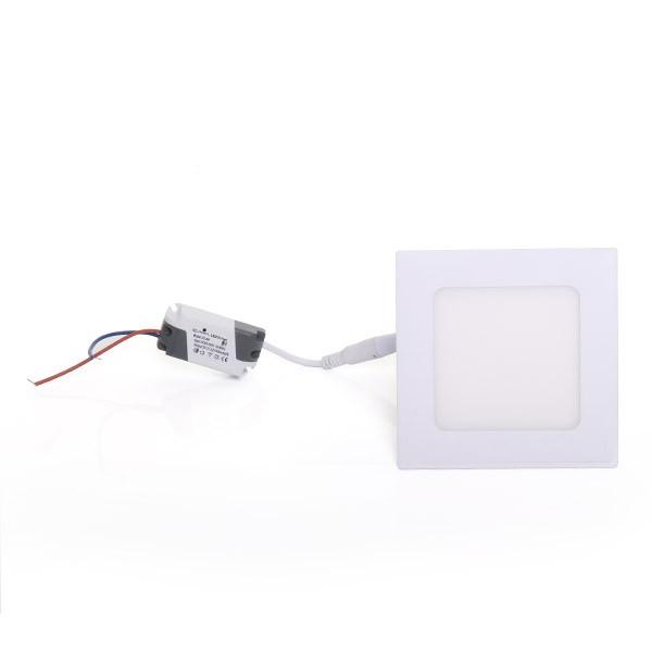 Painel Embutir LED Quadrado Gaya 9902 6W 4000K IP20 Bivolt 110x110mm