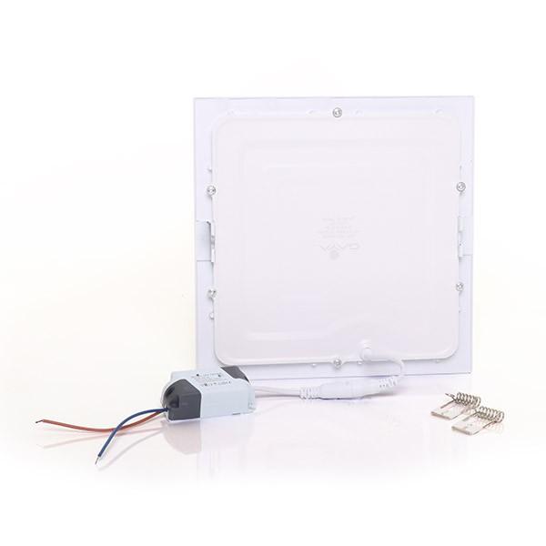 Painel Embutir LED Quadrado Gaya 9913 18W 3000K IP20 Bivolt 205x205mm