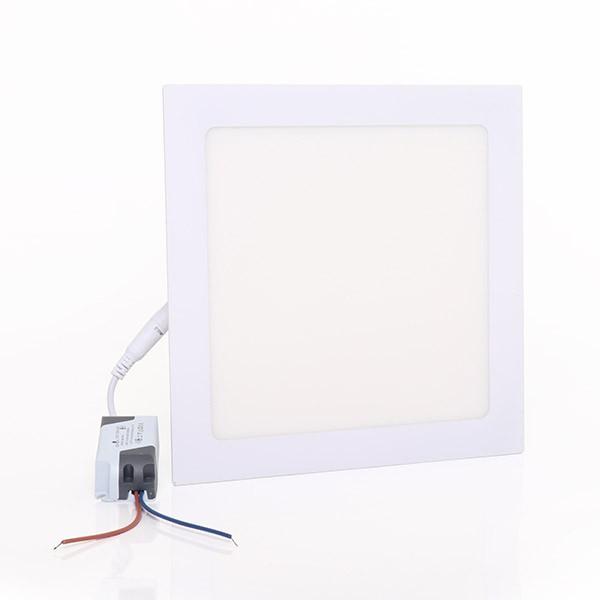 Painel Embutir LED Quadrado Gaya 9915 18W 6000K IP20 Bivolt 205x205mm