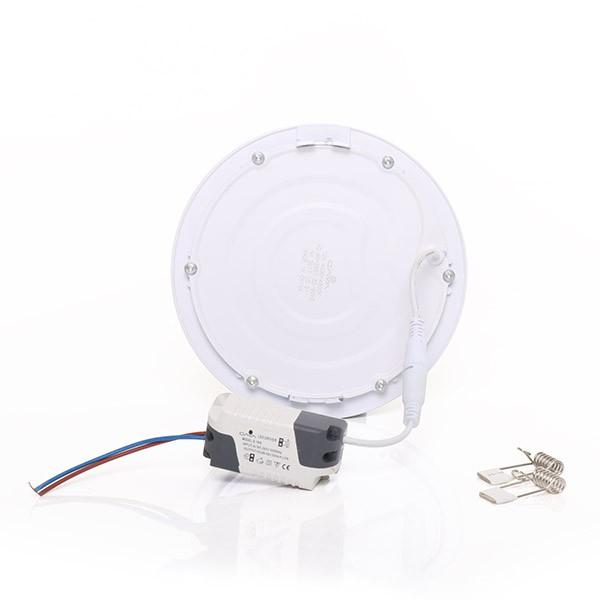 Painel Embutir LED Redondo Gaya 9911 12W 4000K IP20 Bivolt Ø155mm
