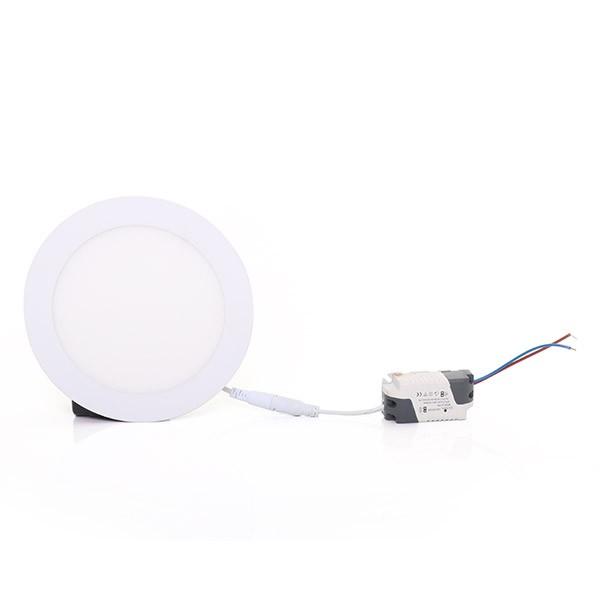 Painel Embutir LED Redondo Gaya 9912 12W 6000K IP20 Bivolt Ø155mm