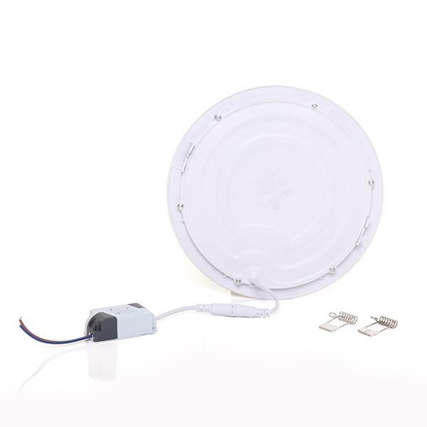 Painel Embutir LED Redondo Gaya 9917 18W 4000K IP20 Bivolt Ø205mm