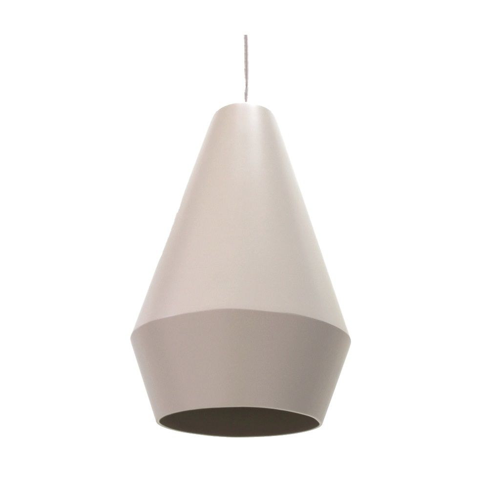 Pendente Accord 1344 Cone Duo 1L E27 Ø200X300mm